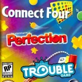 Three-in-One Pack: Connect Four + Perfection + Trouble